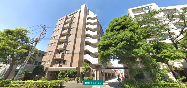 三輪設計:H共同住宅 9階建 企画・設計・監理